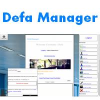 Defa Manager (โปรแกรม Defa Manager บริหารงานบริษัท)