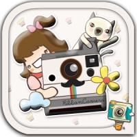 Ribbon Camera (App ตกแต่งแสตมป์น่ารักๆ)
