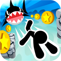 Swimming Coins (App เกมส์ว่ายน้ำ ผจญภัยใต้น้ำ)