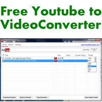 Free Youtube to Video Converter (โปรแกรม Youtube to Video Converter แปลงไฟล์ฟรี)