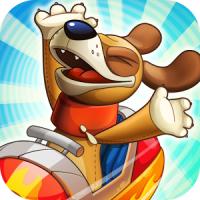 Nutty Fluffies Rollercoaster (App เกมส์รถไฟเหาะมหาสนุก)