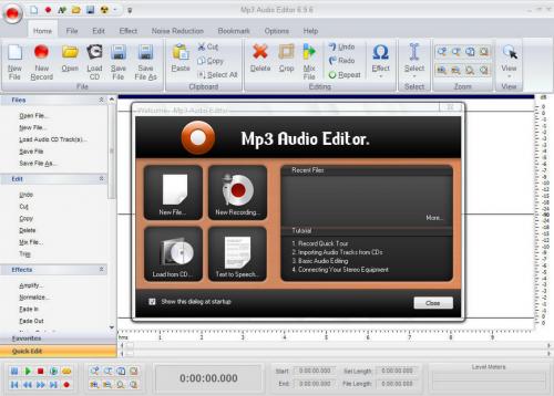โปรแกรม Mp3 Audio Editor