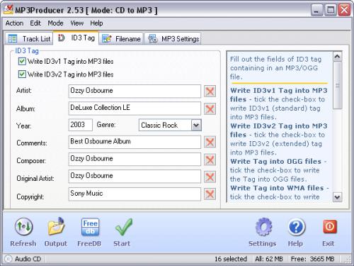 โปรแกรม MP3Producer