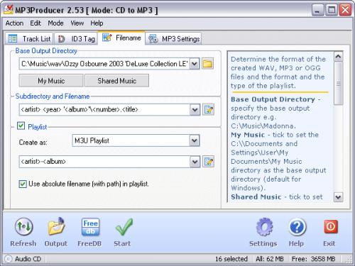 โปรแกรมแปลงเพลง MP3Producer