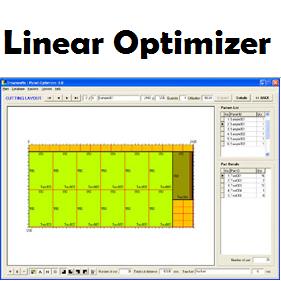 Linear Optimizer (โปรแกรม Linear Optimizer คำนวณการตัดชิ้นงาน 1 มิติ) :