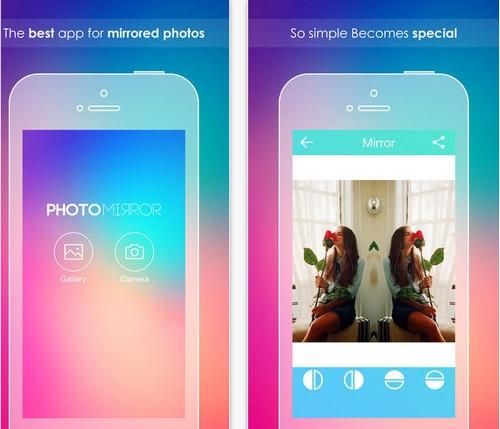 App แต่งรูปแฝด Insta Photo Mirror
