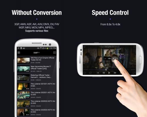 App ดูหนังฟังเพลง KMPlayer