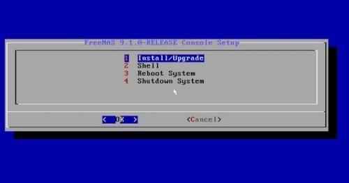 โปรแกรมทำเซิร์ฟเวอร์เก็บไฟล์ FreeNAS