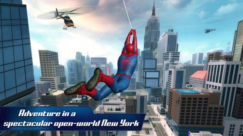 โหลดเกมส์ The Amazing Spider Man 2