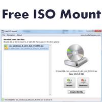 Free ISO Mount (โปรแกรมเม้าท์ไฟล์ ISO Image ฟรี) :