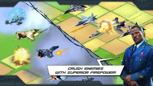 App เกมส์ทหารวางแผน World at Arms