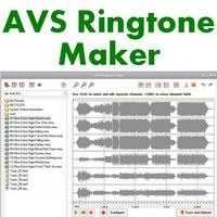 AVS Ringtone Maker (โปรแกรม Ringtone Maker สร้างริงโทน) :