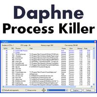 Daphne Process Killer (โปรแกรมจัดการโปรเซส กำจัดโปรเซส)