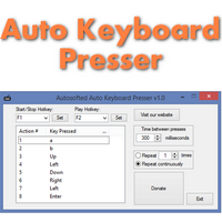 Auto Keyboard Presser (โปรแกรม Auto Keyboard กดปุ่มอัตโนมัติฟรี)