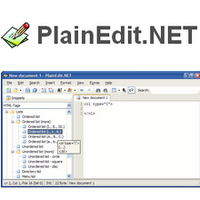 PlainEdit NET (โปรแกรม PlainEdit แก้ไขซอสโค้ด ฟรี)