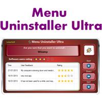 Menu Uninstaller Ultra (โปรแกรม Menu Uninstaller ลบโปรแกรม)