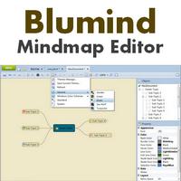 Blumind (โปรแกรมสร้าง Mindmap วาดแผนผังความคิด)