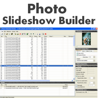 Photo Slideshow Builder