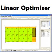 Linear Optimizer (โปรแกรม Linear Optimizer คำนวณการตัดชิ้นงาน 1 มิติ)
