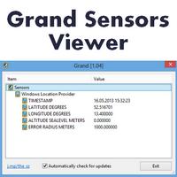 Grand Sensors Viewer (โปรแกรมดูเซ็นเซอร์ เครื่องคอมพิวเตอร์)