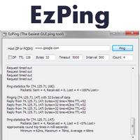 EzPing Portable (โปรแกรม Ping Network และ IP ฟรี)