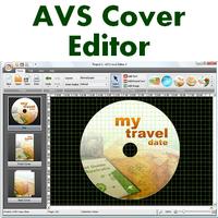AVS Cover Editor (โปรแกรม AVS Cover ทำปกซีดี)