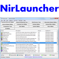 NirLauncher (โปรแกรม NirLauncher ติดตั้งโปรแกรม Nirsoft)