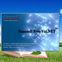 Nanosoft Free VAT (โปรแกรมออกเอกสาร ภาษีซื้อ ภาษีขาย ฟรี) :