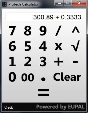 Protech Calculator :