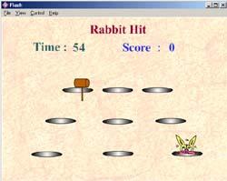 เกมส์ทุบกระต่าย