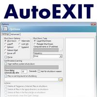 AutoExit (โปรแกรม AutoExit ปิดเครื่อง รีสตาร์ท อัตโนมัติ) :
