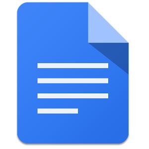 Google Docs (App สร้างไฟล์เอกสาร) :