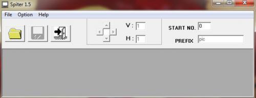 Image Splitter (โปรแกรม Image Splitter ตัดแบ่งภาพ ฟรี) :