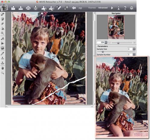 โปรแกรมรีทัชรูปภาพ AKVIS Retoucher