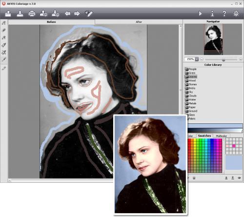 ดาวน์โหลดโปรแกรม AKVIS Coloriage