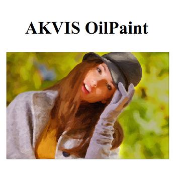 AKVIS OilPaint (เปลี่ยนภาพธรรมดา ให้กลายเป็นภาพสีน้ำมัน) :