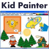 Kid Painter (โปรแกรมฝึกทักษะ วาดรูป แต่งภาพ สำหรับเด็ก) :