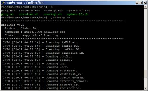 โปรแกรมจัดการอินเทอร์เน็ต NxFilter