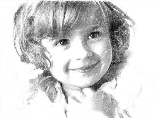 โปรแกรม AKVIS Sketch เปลี่ยนรูปเป็นภาพวาด