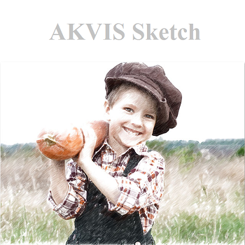AKVIS Sketch (โปรแกรม Sketch เปลี่ยนรูปเป็นภาพวาด) :