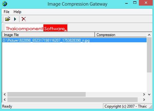 โปรแกรมแปลงไฟล์ Image Compression