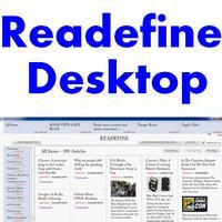Readefine Desktop (โปรแกรมอ่าน รวมข่าว มาไว้บนหน้าจอเดียว)