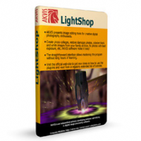 AKVIS LightShop (โปรแกรม LightShop เพิ่มแสงให้รูป)
