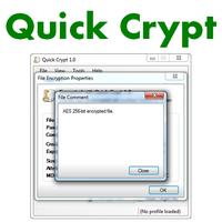 Quick Crypt (โปรแกรม Quick Crypt เข้ารหัส)