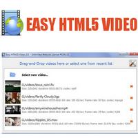 Easy HTML5 Video (แปลงไฟล์วีดีโอ เป็น HTML5)
