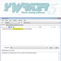 yWriter (โปรแกรมเขียนนิยาย เรื่องเล่า สำหรับนักเขียน ฟรี)