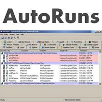 AutoRuns (โปรแกรมหมวด Startup ตรวจสอบและจัดการโปรแกรม ที่ถูกเปิดตอน Boot)