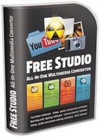 Free Studio (ตัดต่อไฟล์วีดีโอ แปลงไฟล์ ไรท์แผ่น ในตัวเดียว) :