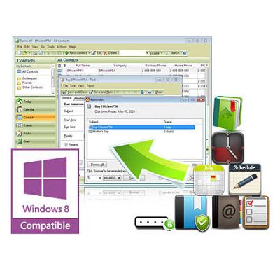 EfficientPIM (โปรแกรมจัดการข้อมูลส่วนตัว แบบพกพา) :