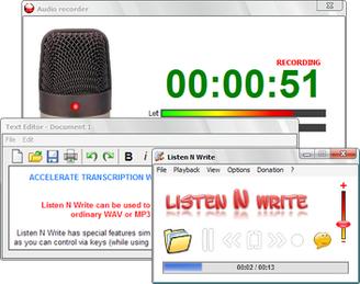 โปรแกรม Listen N Write Free